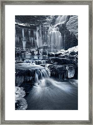 The Falls At Scaleber Force Framed Print by Chris Frost