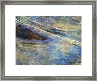 The Falls Framed Print by Lyn  Perry
