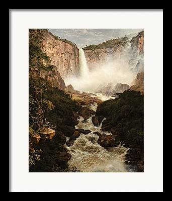 Destructive Paintings Framed Prints