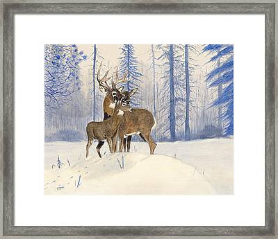 The Family Framed Print by Carl Genovese