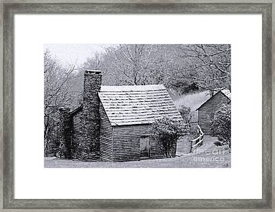 The Family Home Framed Print