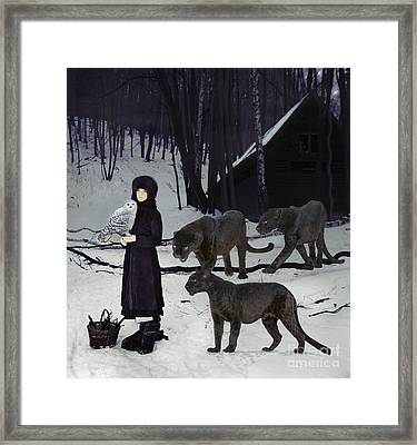 The Family Framed Print by Maureen Tillman