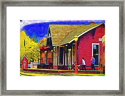 The Family Outing Framed Print