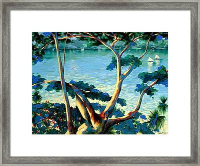 The Family Tree Framed Print by Andrew Hewkin