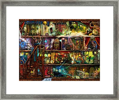 The Fantastic Voyage Framed Print by Aimee Stewart