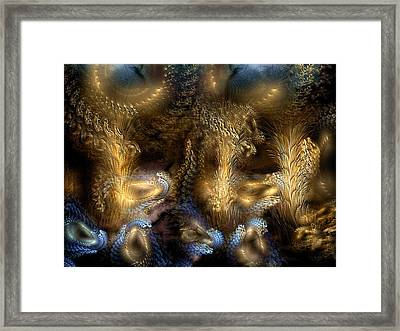 Framed Print featuring the digital art The Far Country by Casey Kotas
