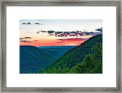 The Far Hills 2 Framed Print
