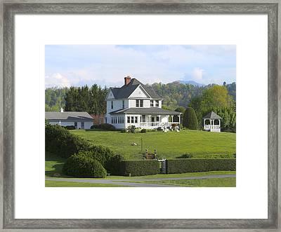 The Farm House Framed Print
