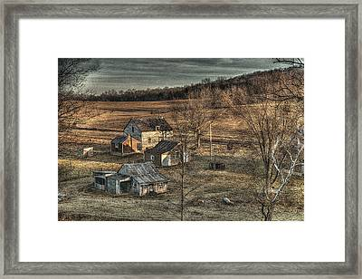 The Farmer In The Dell Framed Print