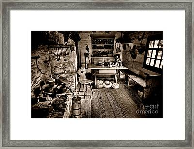The Farmstead Framed Print by Olivier Le Queinec