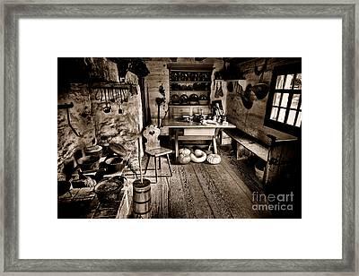 The Farmstead Framed Print