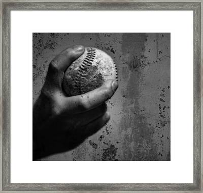 The Fastball Framed Print by Dan Sproul
