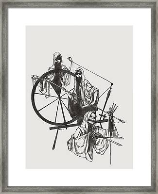 The Fates Framed Print