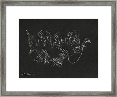 The Fates Framed Print by Michele Myers