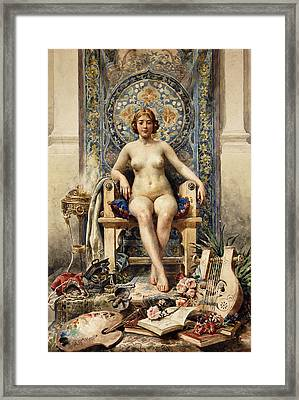 The Favorite Framed Print by Antonio Garcia Mencia