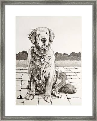 The Favorite Daughter Framed Print by Tyler Auman