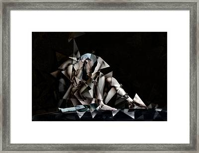 The Fear Framed Print
