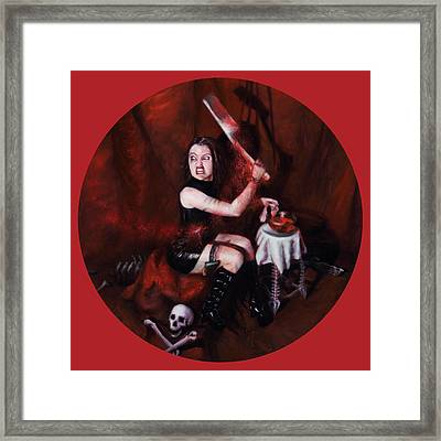 The Fearful Framed Print