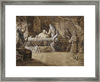 The Feast Of Prince Vladimir Framed Print by Korobkin Anatoly