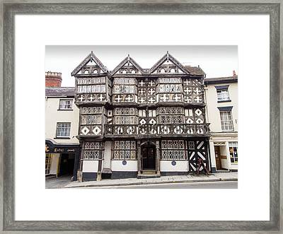 The Feathers Hotel In Ludlow Framed Print by Ashley Cooper