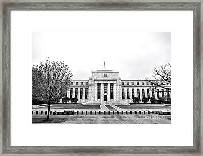 The Federal Reserve  Framed Print