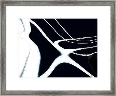 The Feelings Of Goodbye V2 Framed Print by Rebecca Phillips