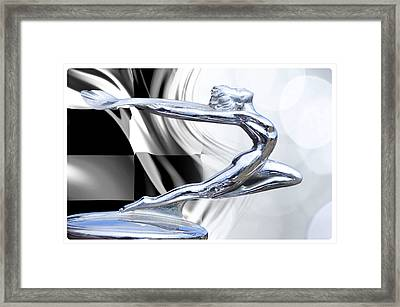 The Female Winner Framed Print