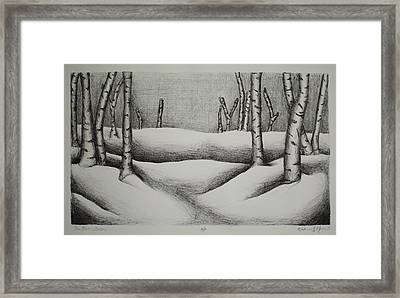 The Fens Framed Print by Katie Meuse