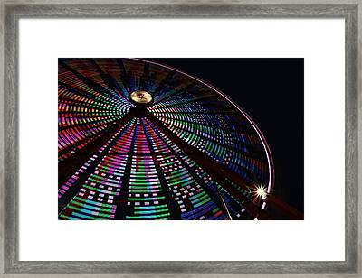 The Ferris Wheel Framed Print