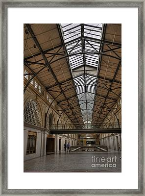The Ferry Building Framed Print by David Bearden