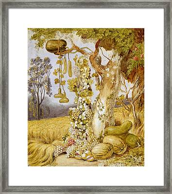 The Fertility Of The Earth Framed Print