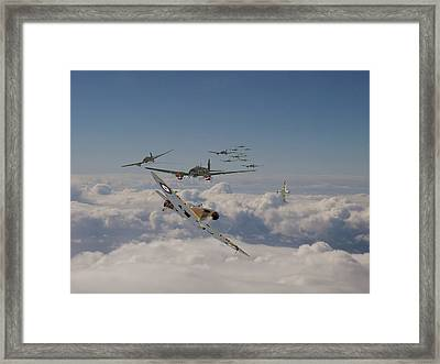 The Few In Action Framed Print by Pat Speirs