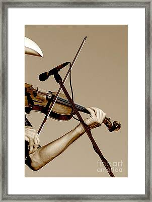 The Fiddler Framed Print