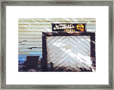 The Fiddletown Store Framed Print by Charlette Miller