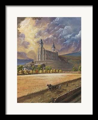 Jeffrey V. Brimley Framed Prints