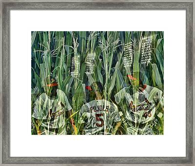 The Field Framed Print by John Freidenberg