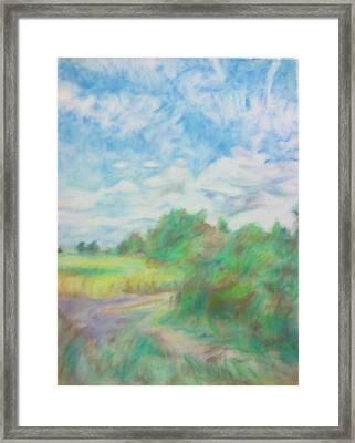 The Field Framed Print by Kim Cyprian