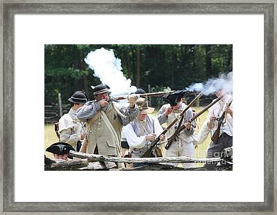 The Fight For Freedom Framed Print