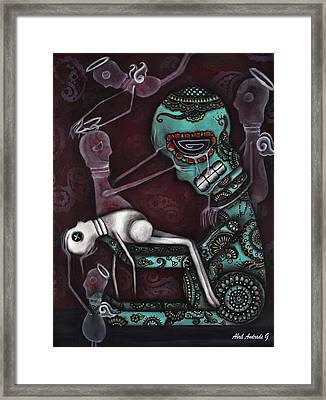 The Final Awakening  Framed Print by  Abril Andrade Griffith