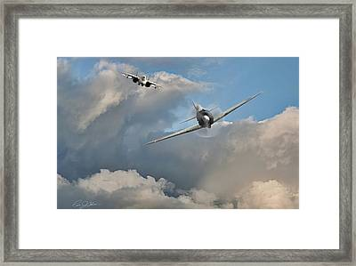 The Final Countdown Framed Print by Peter Chilelli