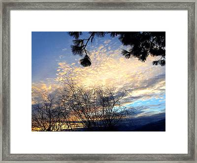 The Final Curtain Framed Print by Will Borden
