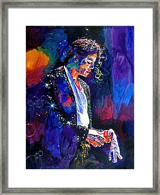 The Final Performance - Michael Jackson Framed Print