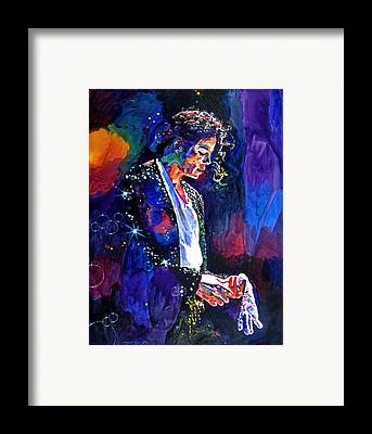 Michael Jackson Framed Prints