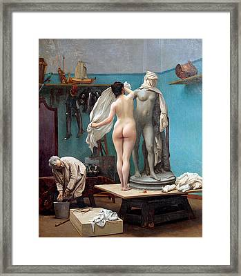 The Final Session Framed Print by Jean-Leon Gerome