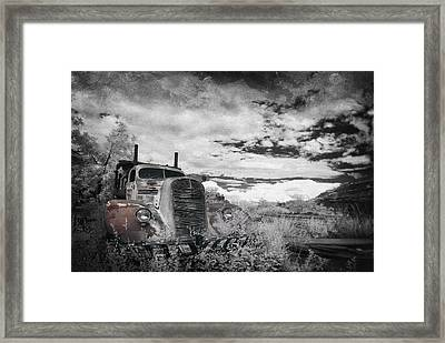 The Final Stop Framed Print by Sean Foster