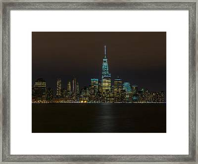The Financial District Framed Print