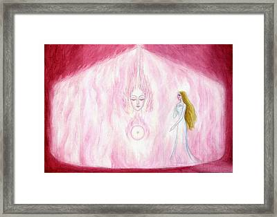 The Finding Of The Soul Framed Print by Shiva Vangara