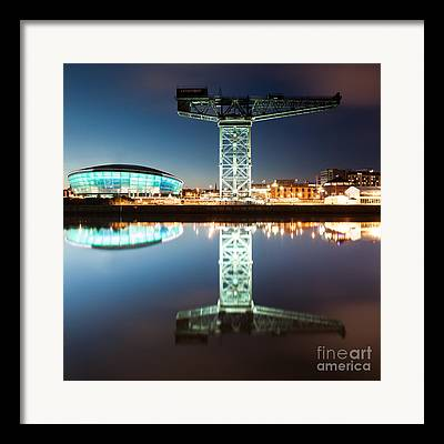 Glasgow City Centre Scotland Framed Prints