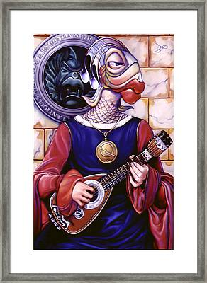 The Finstrel Framed Print by Patrick Anthony Pierson