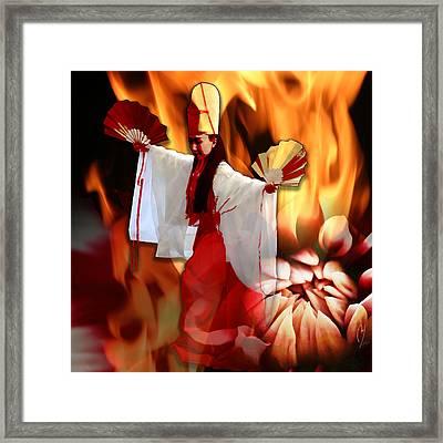 The Fire Bird Framed Print